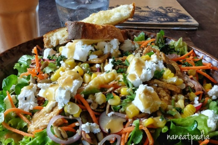 Colorful Watercress House Salad