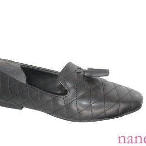 quilted mule wholesale shoes, Kapitoneli mule ayakkabı, стеганые туфли из мула оптом