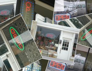 """Dozens of illegal """"neon type"""" lighted signs have been overlooked by sign police."""