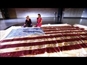 "William Driver's ""Old Glory"" is now in the Smithsonian."