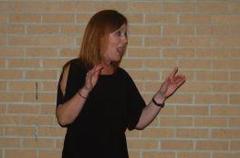 New Albany Schools' music teacher, Celia House