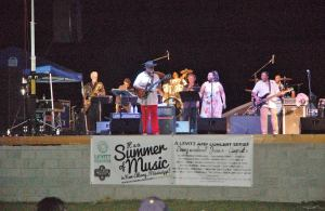 The stage was filled with excellent performers for the Levitt AMP concert June 24th