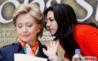 Hillary and Huma Abedin