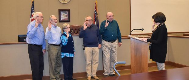 Union County Election Commission sworn in, 2017