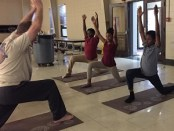 New Albany Middle School Yoga program