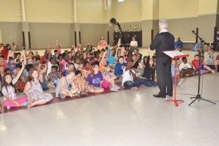 New Albany Elem. School and Carnegie Link up