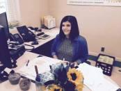 Deputy circuit clerk Holly Webb