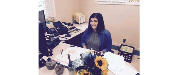 Deputy circuit clerk Holly Webb