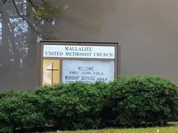 Mallalieu Church fire
