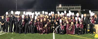 NAHS marching band