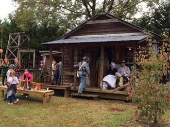 Heritage Pioneer days Varner's store porch