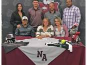 Savanna Johnson signs