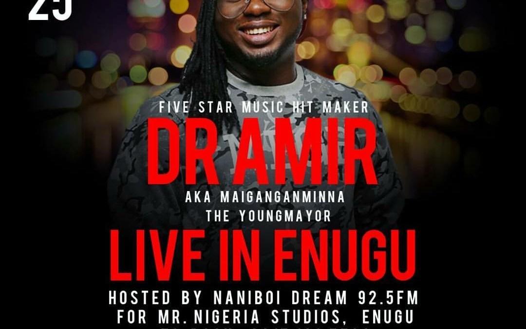 Dr Amir Live in Enugu