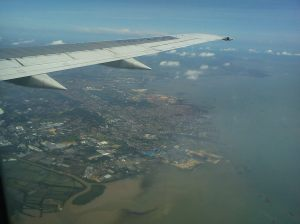 Surabaya, dari udara