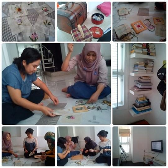 belajar Sulam Pita