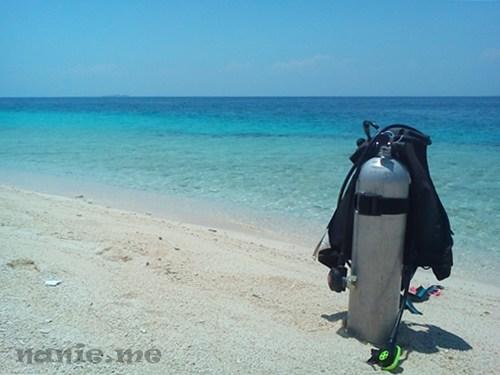 Menikmati Keindahan Laut