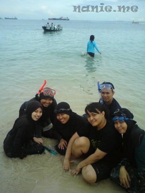 Snorkeling di Pulau Gusung
