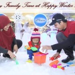 Happy Family Time at Happy Winter Land