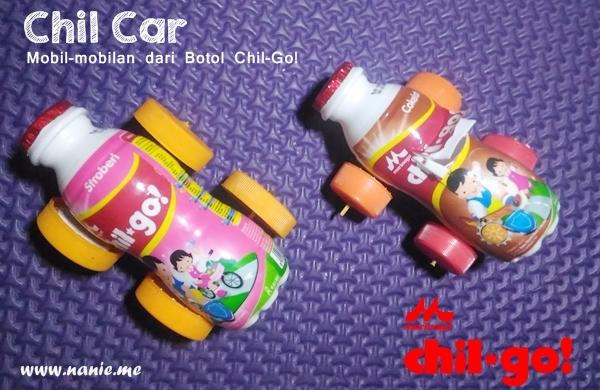 Chil Car, Mobil-mobilan dari botol Chil-Go