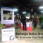 Belanja Buku Murah di Gramedia Cuci Gudang