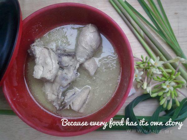 nasu pute masakan khas bugis