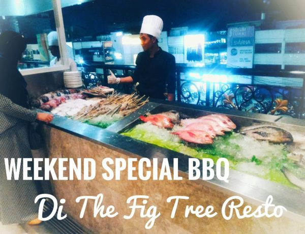 Weekend Special BBQ di The Fig Tree Resto, MYKO Hotel Makassar
