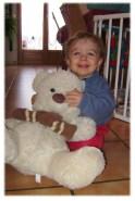 Nicolas, 15 mois à son arrivé, octobre 2009 jusque septembre 2010.