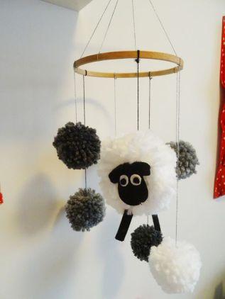mobile mouton