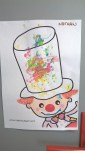 Petit clown colorer pour carnaval