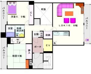 PAL・HOUSE88(パルハウス88):間取