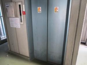 NAMBAウエストⅡ:エレベーター