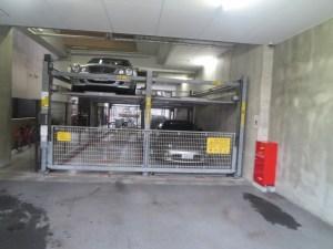 セレニテ難波西:駐車場