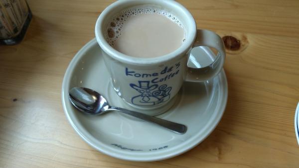 コメダ珈琲店 沖縄北谷58号店 コーヒー