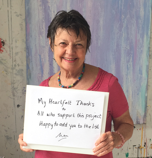 My heartfelt thanks to all who support this project. Happy to add you to the list. --Nan