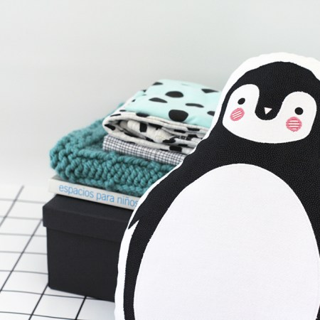 peluche de pingüino