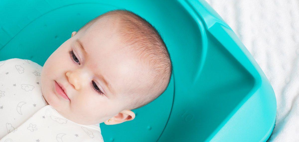 La seguridad en un cambiador de bebé