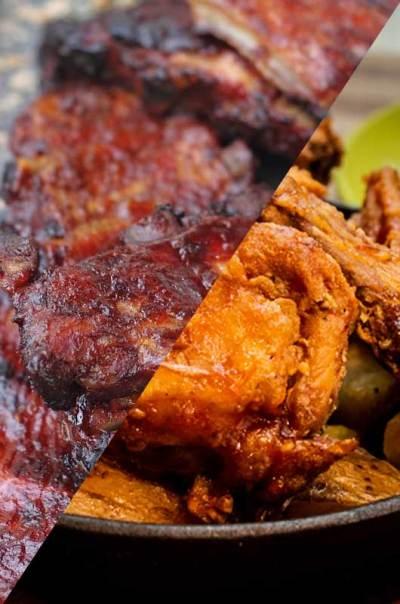 Gewoan Lekker - Ribs & Chicken Combi