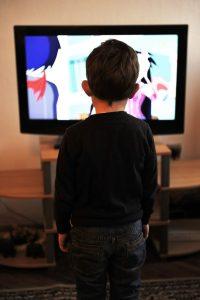 child behind tv 200x300 Speech Development In Toddlers