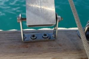 U-Stöd med monterad stödpinne