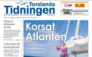 Artikel i Torslandatidningen 2016-04