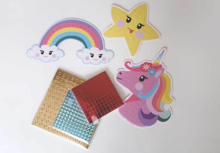 Totum-knutselen-unicorn-set