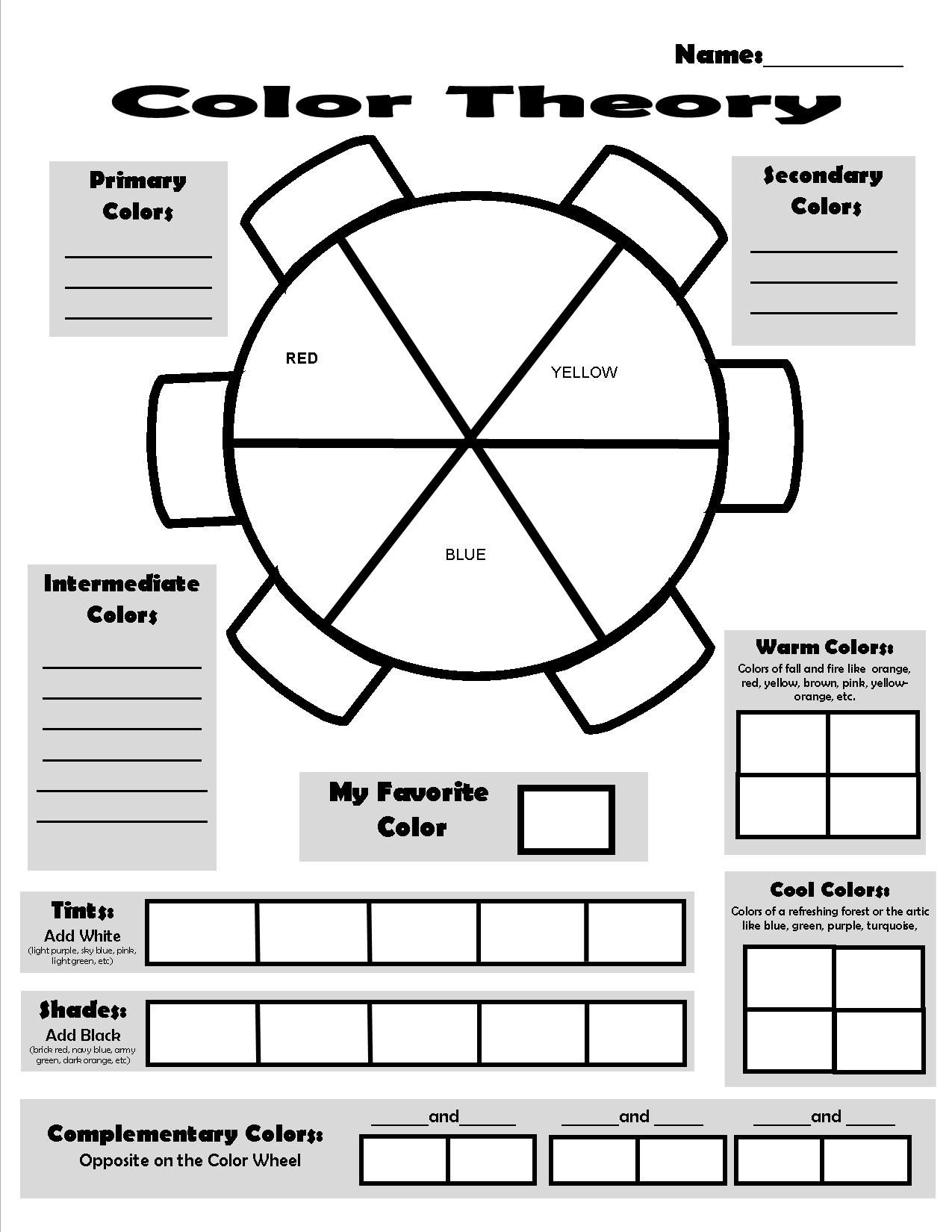 12 Best Theory Worksheets Worksheets Images On Best