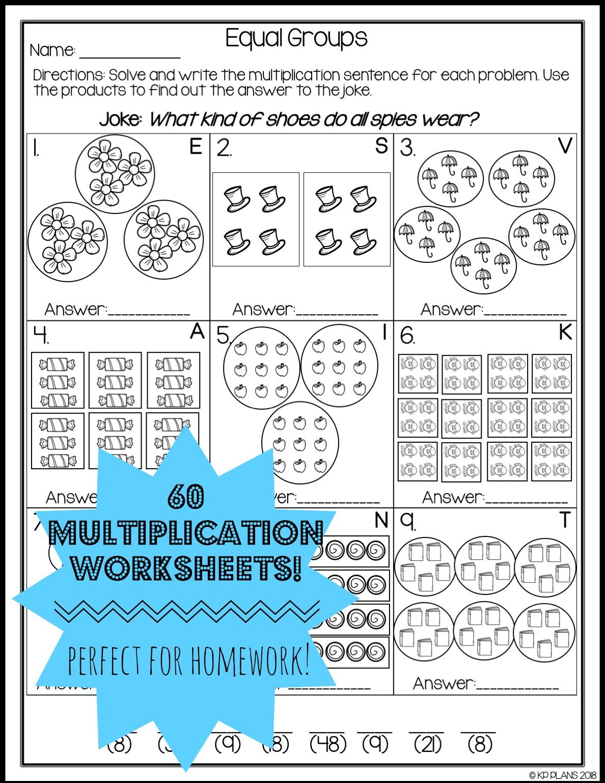 16 Best Worksheets Multiplication Images On Best