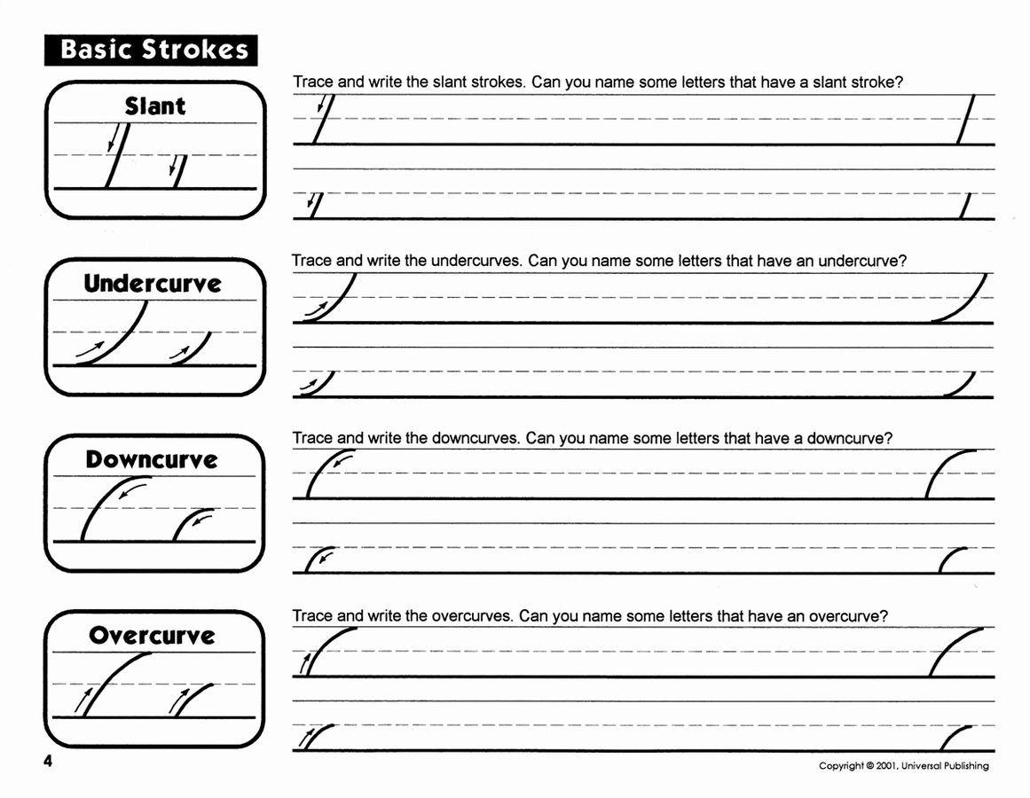 Beginner Cursive Writing Worksheets