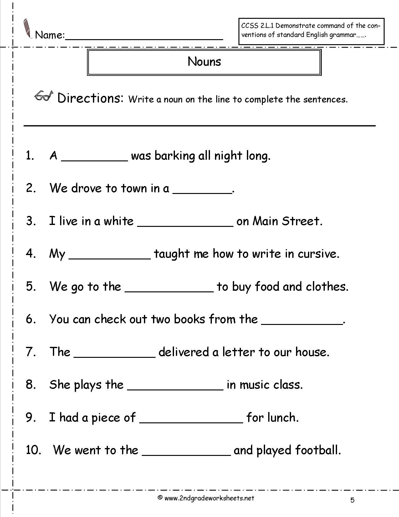 19 Best For 1st Grade Punctuation Worksheets Images On