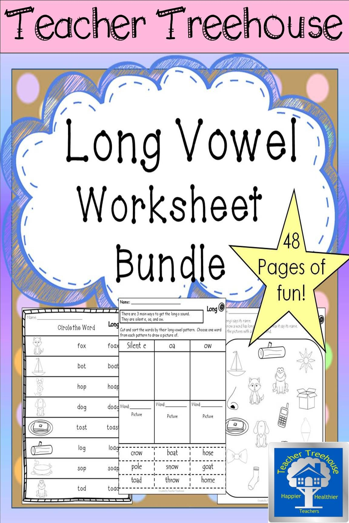 Free Short Vowel Cvc Worksheets