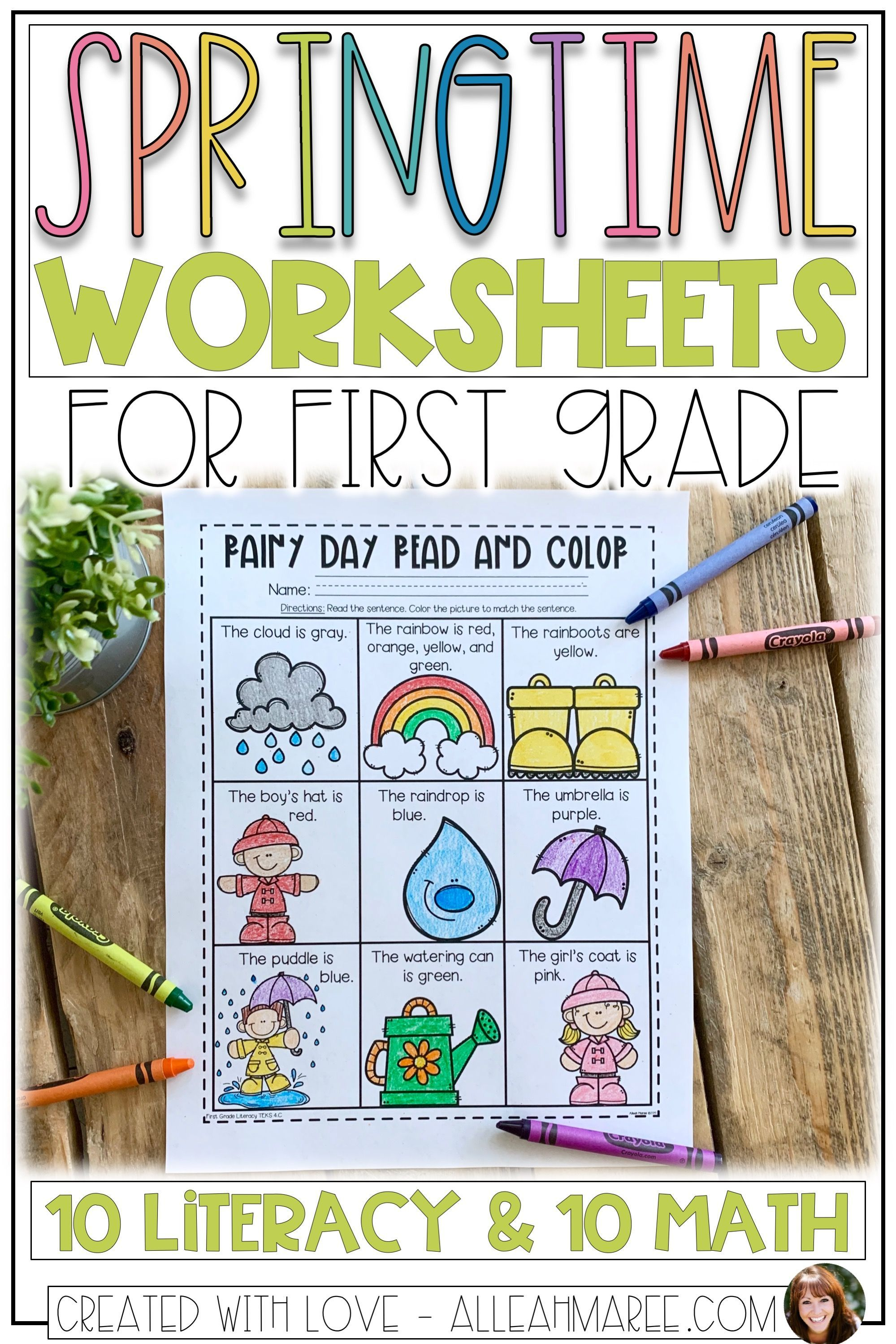 19 Best Fun First Grade Printable Worksheets Images On
