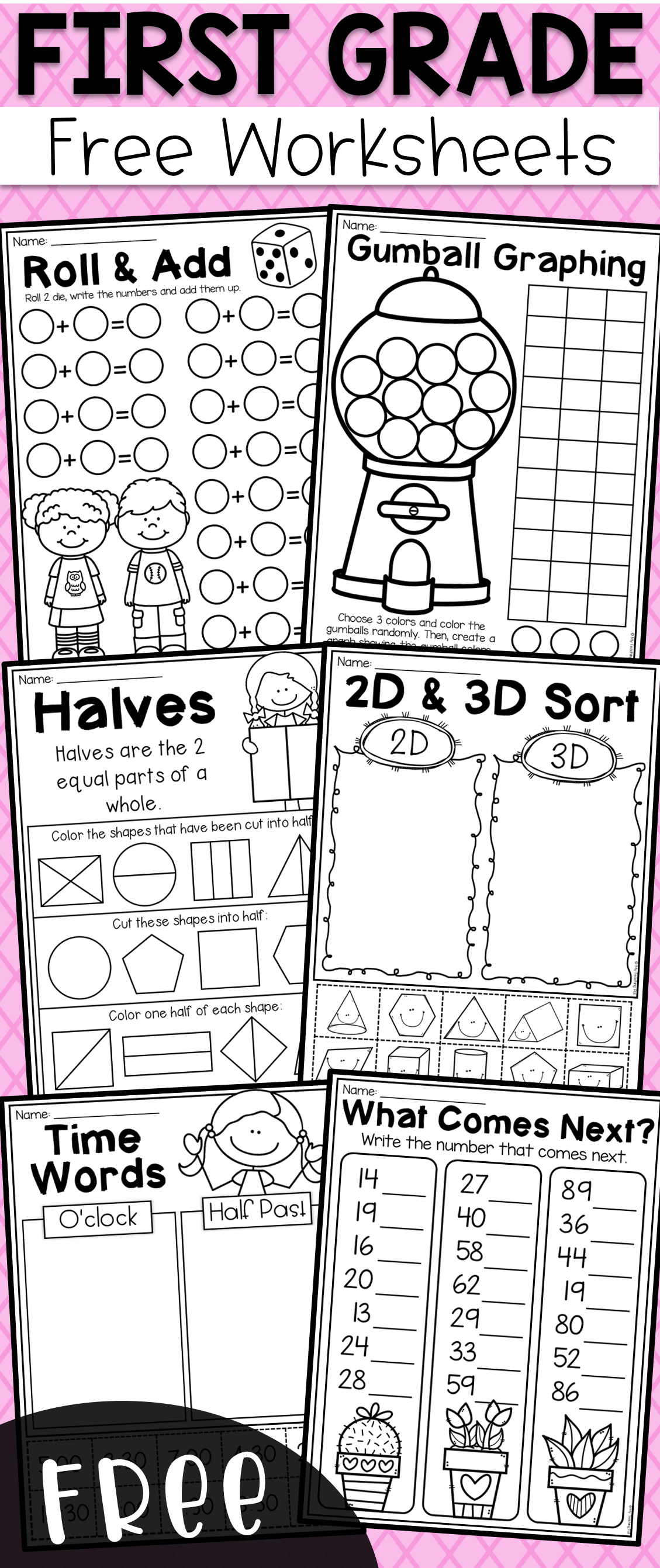 Verb Worksheets For First Grade