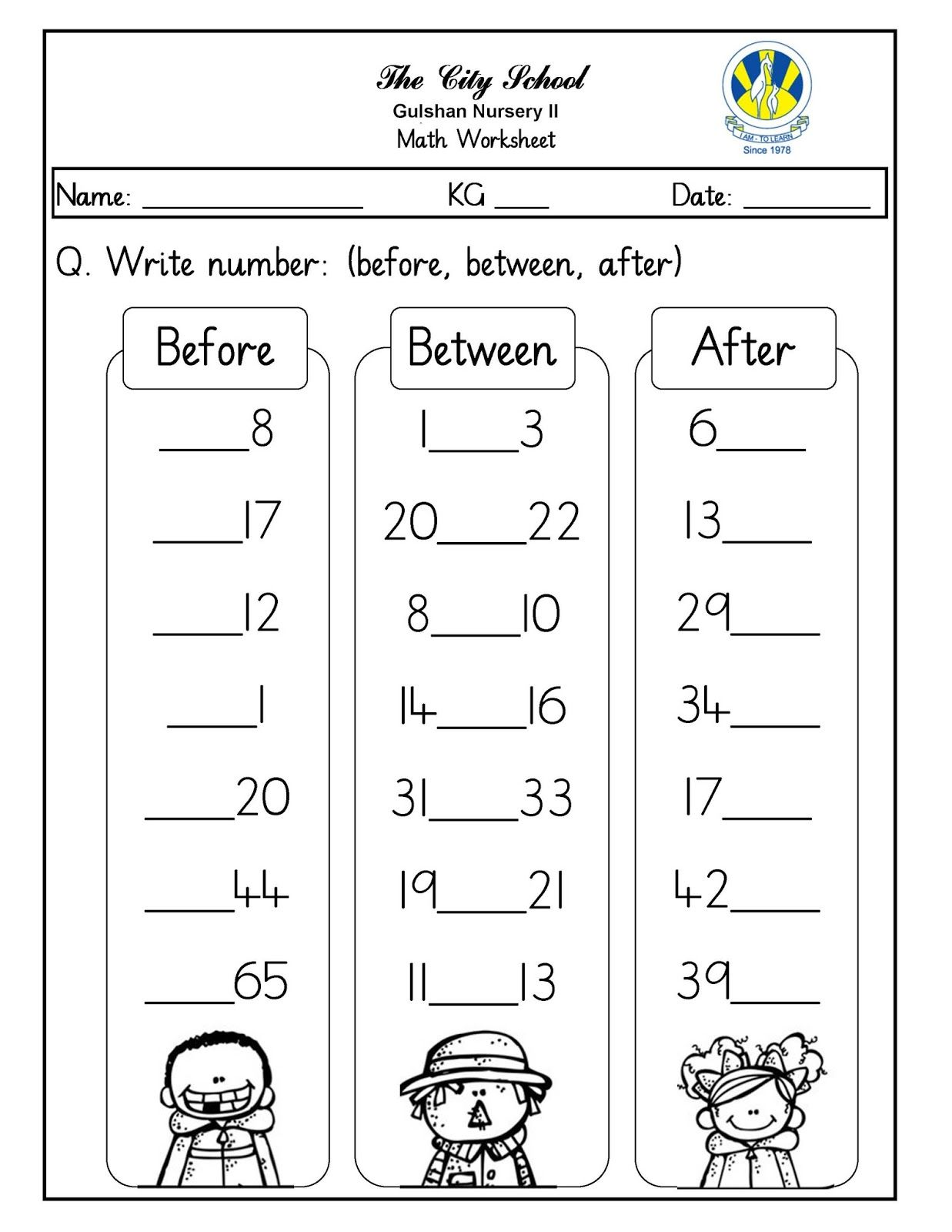 Going To The Zoo Worksheet