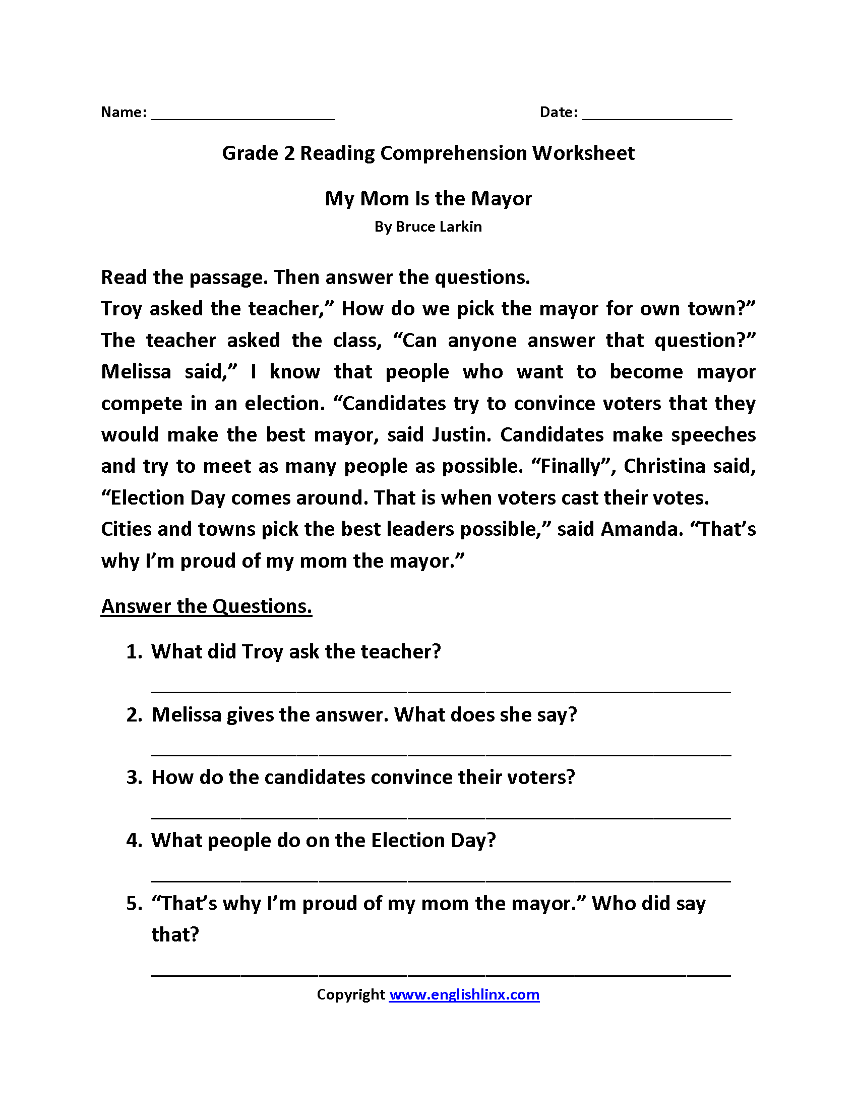 8 Best Phonics Worksheets Reading Comprehension Images On
